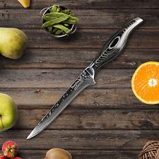 "Super 6"" Inch Boning Fillet Knife Damascus Stainless Steel Kitchen Knife Cutter"
