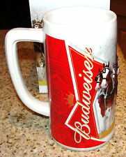 Budweiser Anheuser-Busch 2012 Clydesdales Christmas Holiday Beer Stein Gift Box