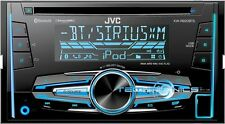 JVC KW-R920BTS DOUBLE-DIN IN-DASH CAR STEREO CD PLAYER/RECEIVER W/BLUETOOTH+USB