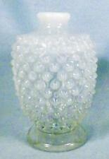 Fenton French Opalescent Hobnail Cologne Bottle from 3 Piece Vanity Set 389