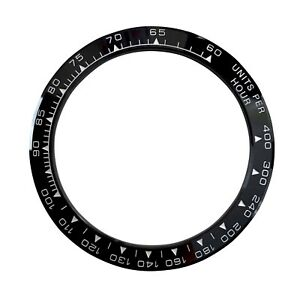 Black Ceramic Replacement Watch Bezel Made For Rolex Daytona
