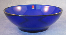 Iittala Verna Bowl (2) Cobalt Blue, New In Box