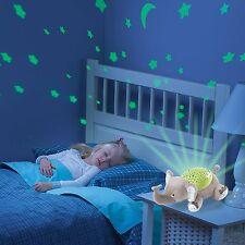 Lampada a luce notturna bambino Summer Infant Slumber Buddies Eddie l'elefante GIOCATTOLI REGALO