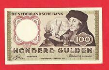 100 Gulden von 1953, Original Banknote in *VF* Erhaltung!