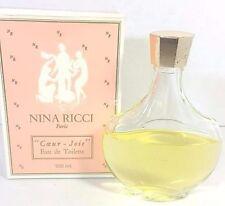 Rare Nina Ricci Coeur Joie Eau de Toilette Paris100 ml Lalique