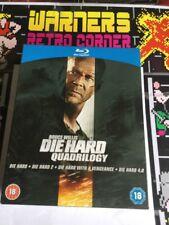 Die Hard Quadrille you 4 Set Movie Film 🎥 blu ray region B