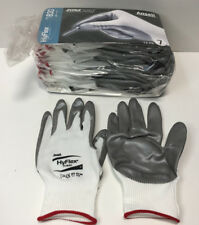 12 Pair Ansell HyFlex 11-830 Light-Duty Multipurpose Glove with Knitwrist Size 7