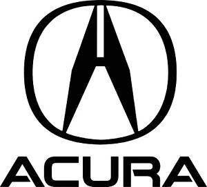 "Acura Logo Garage wall decal 23"" x 25"""