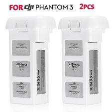 2x For DJI Phantom 3 Battery Professional Advanced Standard Intelligent Flight