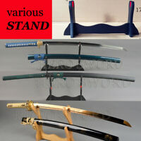Japanese samurai sword stand Katana Wakizashi Tanto Ko-tanto holder Knife Stand