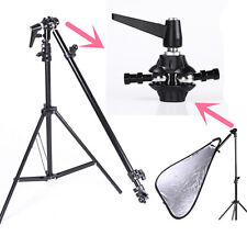 Studio Photo Reflector Disc Boom Holder Arm Bracket with Swivel Head