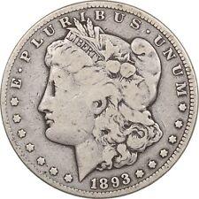 1893-CC MORGAN DOLLAR, PLEASING CIRCULATED EXAMPLE!