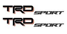 2018 TOYOTA TRD Sport Decals Tacoma Sticker Tundra Red Black truck N61