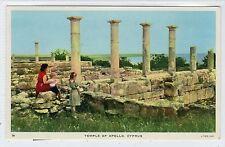 TEMPLE OF APOLLO: Cyprus postcard (C22702)