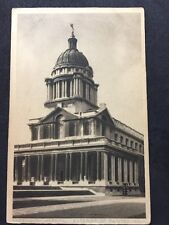 Vintage Postcard - London #G4 - RP Greenwich Hospital Exterior Painted Hall 1948
