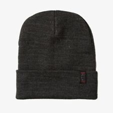 Mountain Standard MTN Beanie hat Charcoal GREY Boulder CO Colorado Burton analog