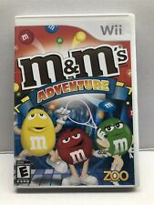 M&M's Adventure [Nintendo Wii, 2008] Complete w/ Manual - Tested Working