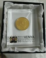 Kenya Commemorative Coin to mark 50 years of Independence