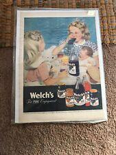 Welchs Vintage Advertisment