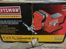 Craftsman Professional 4 12 Bench Vise Red Wilton Made 951888