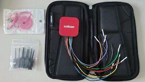 Authentic Saleae Logic 8 Logic Analyzer - Red (8ch, usb 2.0, up to 100MSPS)