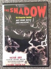 THE SHADOW 15 episode Cliffhanger serial on 2 dvd disks
