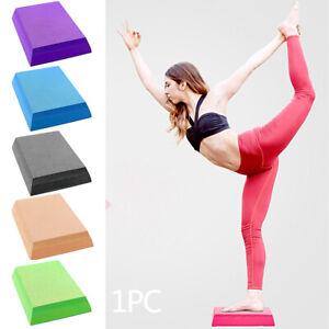Yoga Mat Fitness Training Balance Pad Non Slid Foam Home Trapezoid