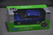 Welly Nex Ford Focus ST MKII Blue Scale 1:34 11cm Diecast Model Brand New In Box