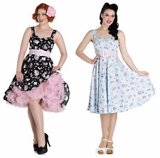 Hell Bunny Polyester Party Dresses Midi