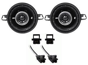 """2005-2013 Chevy Corvette Kicker DS 3.5"""" Front Door Speaker Replacement Kit"""
