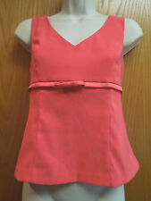 STUDIO Y TOP SIZE 5/6 - CORAL COLOR - EXCELLENT CONDITION
