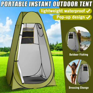 Outdoor Pop Up Tent Camping Shower Toilet Changing Room Privacy Tent Portable UK