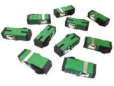 SM Single Mode SC to SC Simplex Fibre Optic Adapter Coupler Connector - Qty 10
