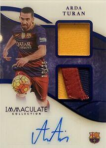 2020/21 Panini Immaculate Soccer - Arda Turan Card - Barcelona #16/25