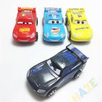 4pcs Cars Lightning McQueen Cars Racing Car Pull-back Toy Car Vehicle