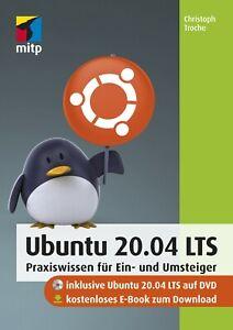 Ubuntu 20.04 Buch inkl. kostenlosem E-Book +++ Direkt vom Verlag +++
