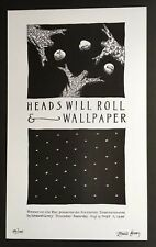 Edward Gorey *Heads Will Roll* Limited Ed. Poster -  SIGNED BY GOREY - RARE