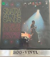 Frank Sinatra + Count Basie At The Sands Double LP Vinyl - Reprise 1966 EX / EX
