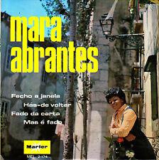 EP MARA ABRANTES fecho a janela 45 SPAIN RARE MARFER 1970 fado da carta