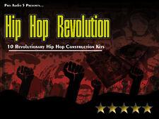 10x Hip-Hop Construction Kits wav Sample CD Drums Synths Bass Create Beats RAP