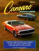 Camaro Restoration Handbook How To Restore 1967-81