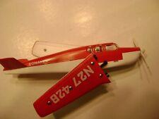 Lionel 6500 Red over White Bonanza Airplane