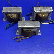 Vintage Ferranti Valve Radio Mains/Output/choke Transformers - Set of 3