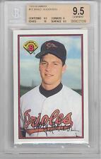 1989 Bowman Brady Anderson (Rookie Card) (#295) BGS9.5 BGS