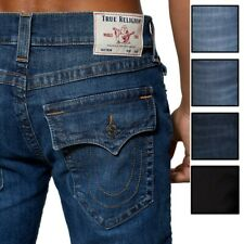 True Religion мужские Рикки прямой покрой стрейч джинсы в светлый, средний, темный стирка