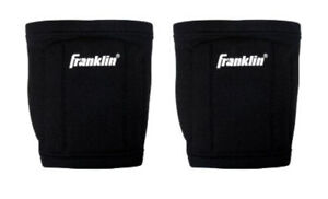 Franklin Volleyball Knee Pads-Black High Density Shock Absorption One Size NEW