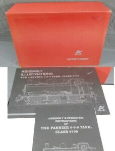 ASTER HOBBY PANNIER TANK LT NON-INSULATED LIVE STEAM TRAIN KIT 0-6-0 CLASS 5700