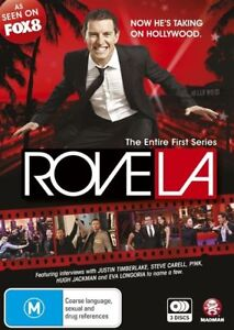 Rove LA: Series 1  (DVD,3-Disc Set) Rove McManus - Region 4 Very Good Condition