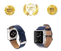 38mm Strap Band Genuine Leather Apple Watch Series 3 2 1 Wristband Iphone Iwatch
