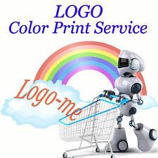 Color Print Customized Logo Service on USB Drive MP3 MP4 Camera Power Bank ect
